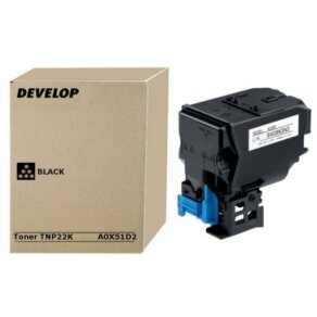 Develop toner Black TNP-22K, TNP22K, A0X51D2