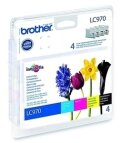 Brother 4 x tusz CMYK LC970VALBP