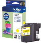 Brother tusz Yellow LC-221Y, LC221Y