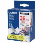 Brother etykiety 36 mm. x 8 m. TZ-262, TZ262, TZE-262, TZE262