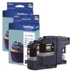 Brother 2 x tusz Black LC123BKBP2, LC-123BKBP2, LC-123-BKBP2