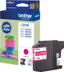 Brother tusz Magenta LC-221M, LC221M