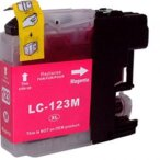 Brother tusz Magenta LC123M, LC-123M, LC-123-M