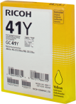 Ricoh żel Yellow 41Y, GC41Y, GC-41Y, 405764