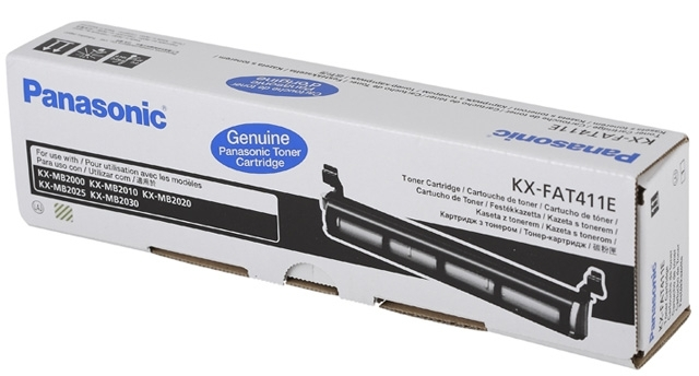 Panasonic toner Black KX-FAT411E, KXFAT411E