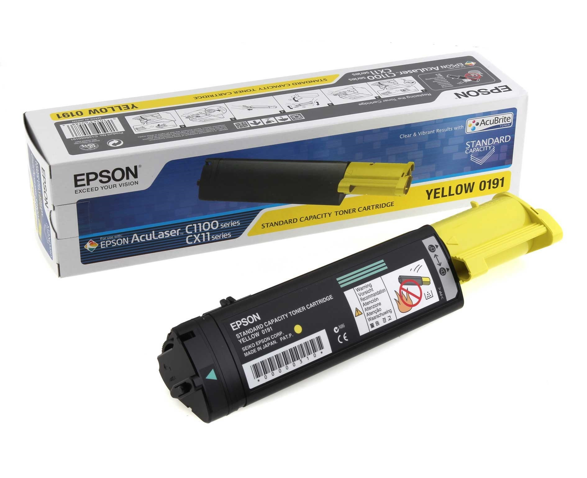 Epson toner Yellow 0191, C13S050191