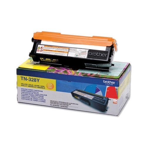 Brother toner Yellow TN-328Y, TN328Y